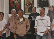 Five Stars Lanjutan Pameran Seni Lukis Song for Sukabumi