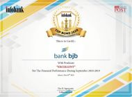 bank bjb Raih Penghargaan 2nd Infobank Top BUMD 2020