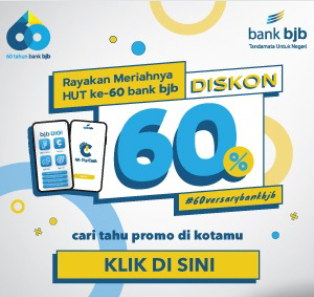 HUT Bank bjb ke 60